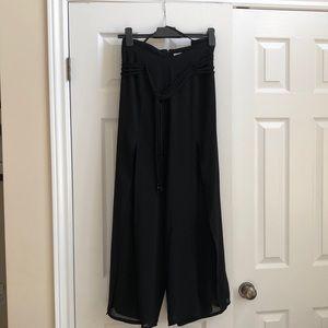 Skirted dress pants